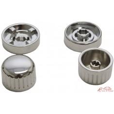 kit botones para autoradio Retrosound cromado /cromado