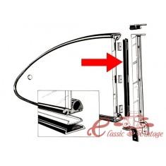 Juntas (2) verticales de vidrio trasero de pop out 60-71