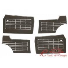 kit (4) paneles de puerta negros 64-74