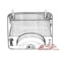 kit moqueta de maletero delantero gris Type 3 61-70 (3pcs)