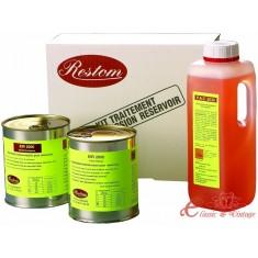 Tratamiento de deposito de gasolina 40-70 litros RESTOM Super Kit