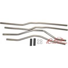 Set de tuberias inox de refrigeración para T25 1,9 1/85-7/87 y T-TD 1/85-
