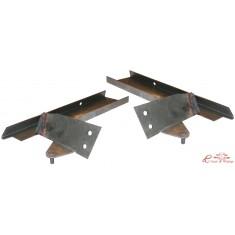 Set de 2 chapas de reparación completo delantero de arco de capota ,excepto 1303