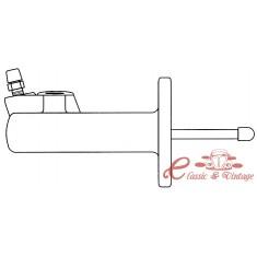 Cilindro receptor del embrague hidráulico 8/90-9/97
