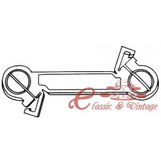 Biela de selección de transmisión mecanica Golf 2 4 velocidades 8/83-10/91