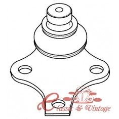 Rotula de suspension ( diam19mm) 8/87-10/91 todos , 11/91-9/97 excepto GTI y VR6