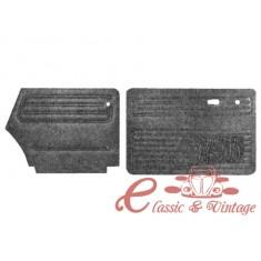 Juego de 4 paneles de puerta negro cabriolet 73-79