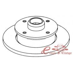 Disco de freno trasero (4/100) 226x10mm 8/83-9/97