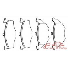 Pastillas de freno delantero 15,30mm 8/96-9/97 1.4-1.9D