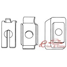 kit de fijación de cable de embrague (reglaje automatico ) 8/83-10/91