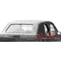 Capota cabriolet negra en vinilo y sin luneta 80-93