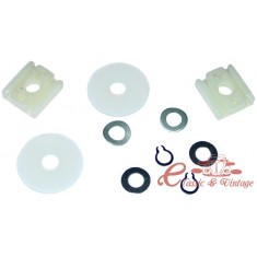 kit de reparación de guia de vidrio cabriolet 65-79