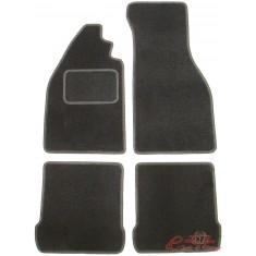 Set de 4 alfombrillas negras para cabriolet 1303