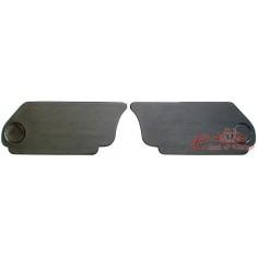 Set de 2 cartones negros bajo sillón trasero cabriolet 65-79