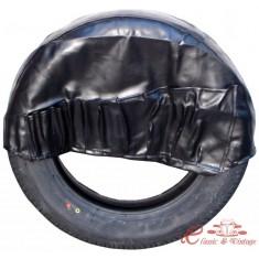 Funda de rueda de recambio con bolsillos
