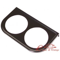 Soporte de manometro (diam 52mm) sobre salpicadero dos agujeros