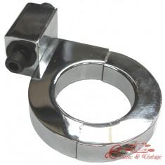 Soporte en aluminio cuenta km sobre arco