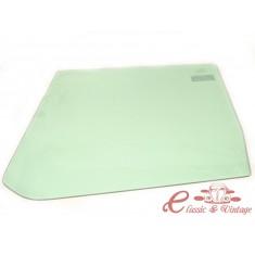 Vidrio de puerta izquierdo o derecho verde cabriolet 65- (1303 inclus)