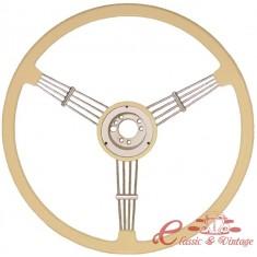 """Volante BANJO blanco diametro 15 1/2"""""""