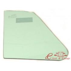 Vidrio de deflector izquierdo o derecho verde cabriolet 65-72