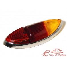 Plastico de piloto trasero karmann 60-69 naranja y rojo