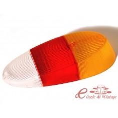Plastico piloto trasero Karmann 70-71 naranja y rojo