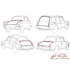 Junta de capot del o trasero T3 todos los modelos ( excepto variant)