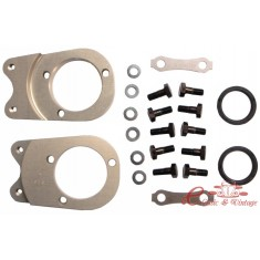 Set de 2 mecanismos para adaptar discos delanteros 4 tornillos sobre 181