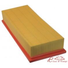 Filtro de aire rectangular largo golf 3/82-10/91 1.6D T3 1/81-7/90 D 1.6-1.7