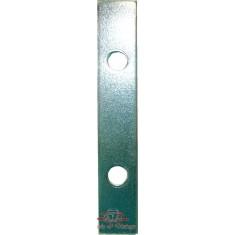 Plancha de refuerzo sobre maneta central de capota interior
