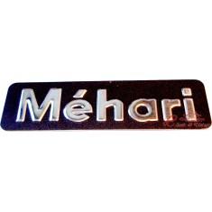 Monograma MEHARI trasero