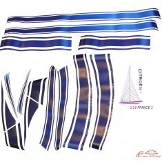kit completo adhesivos para FRANCE 3 con barco trasero