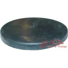Tapa de plastico redonda sobre rodamiento de brazo trasero antiguo